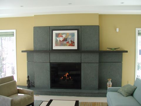 Custom Panel Fireplace  3