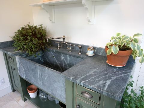 Custom Soap Stone Sink  2