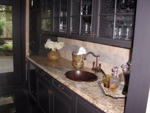 Custom Wet Bar  3