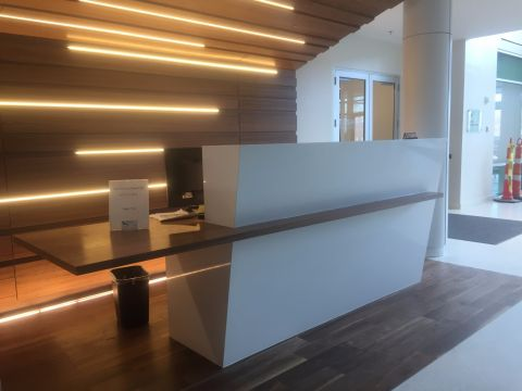 AP Dailey Reception Desk
